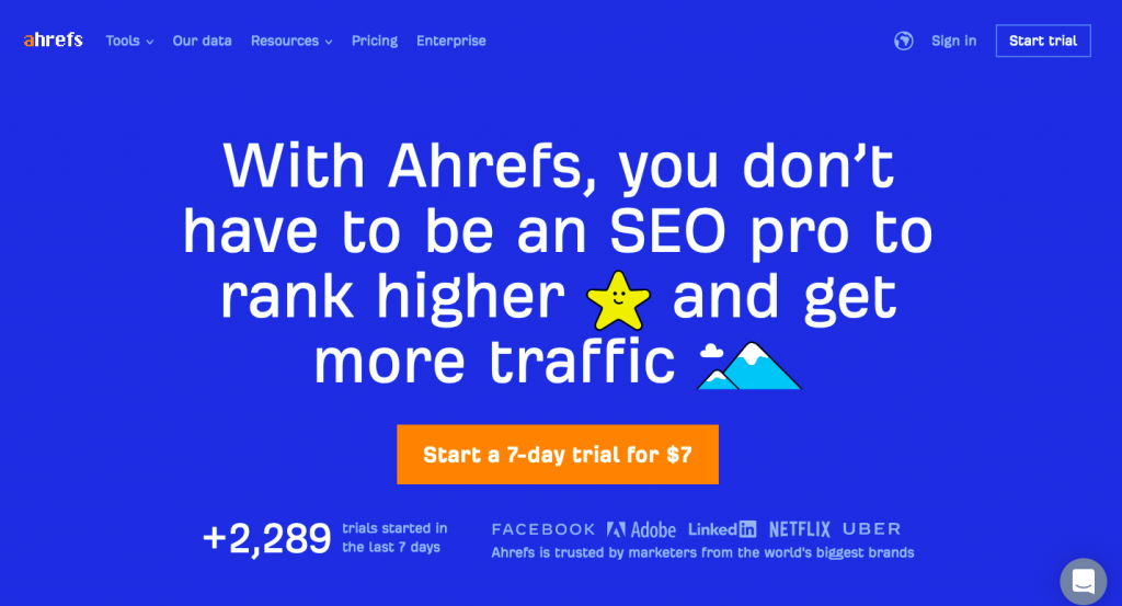 Ahrefs - Specify ranking based on your country
