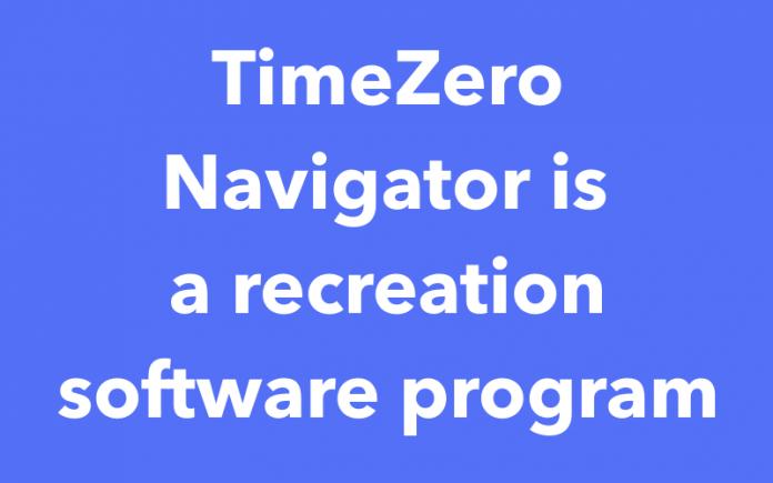 TimeZero Navigator is a recreation software program